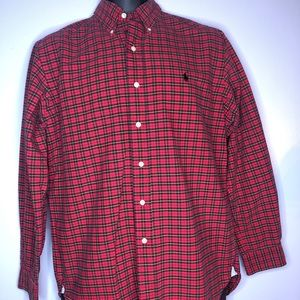 Polo RL Plaid Oxford